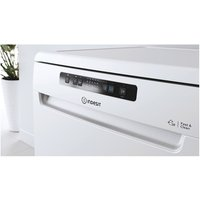 Indesit DFC2B16UK 60cm Dishwasher in White 13 Place Settings F Rated