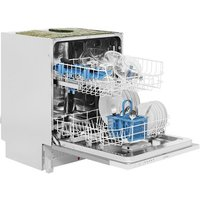Indesit DIF16B1 60cm Fully Integrated Dishwasher in Silver 13 P Set A