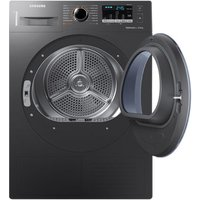 Samsung DV80M50103X 8kg Heat Pump Tumble Dryer in Graphite Smart Check