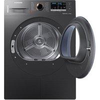Samsung DV80M50103X 8kg Heat Pump Tumble Dryer in Graphite Smart Check