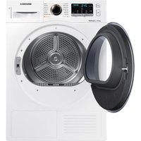 Samsung DV80M5013QW 8kg Heat Pump Condenser Tumble Dryer in White A Ra