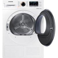 Samsung DV80M5013QW 8kg Heat Pump Condenser Tumble Dryer in White A Ra