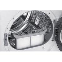 Samsung DV90M50001W 9Kg Heat Pump Condensor Tumble Dryer in White A Ra