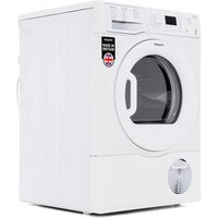 Hotpoint ECF87BP 8kg Condenser Tumble Dryer in White Sensor B Energy