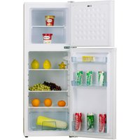 Iceking FF139W Top Mount Fridge Freezer White 1 27m A Rated