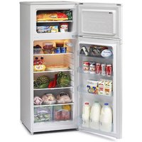 Iceking FF218AP2 55cm Top Mount Fridge Freezer White 1 42m A Rated