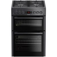 Blomberg GGN65N 60cm Double Oven Gas Cooker in Anthracite