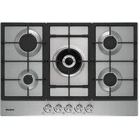 Blomberg GMB83512 60cm Gas Hob in Stainless Steel with FSD