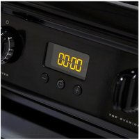 Hotpoint HAG60K 60cm Gas Cooker in Black Double Oven FSD A Rated