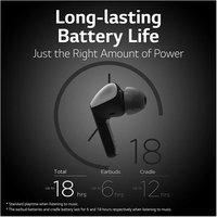 LG HBS FN4 Wireless In Ear Noise Cancelling Headphones in Black