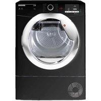 Hoover HLC9DCEB 9Kg Condenser Tumble Dryer in Black Sensor B Energy