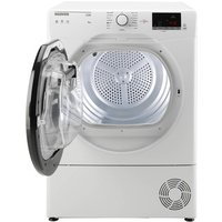 Hoover HLC9DKE 9Kg Condensor Tumble Dryer in White Sensor B Energy