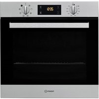 Indesit IFW6340IX Built In Single Oven in Stainless Steel 66L A Rated