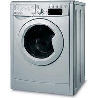 Indesit IWDD75145S Washer Dryer in Silver 1400rpm 7kg Wash 5kg Dry