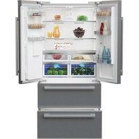Blomberg KFD4953XD American Style Four Door Fridge Freezer in St Steel