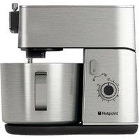 Hotpoint KM040AX0 Kitchen Machine 400W Food Processor in Stainless Ste