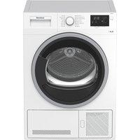 Blomberg LTK2802W 8kg Condenser Tumble Dryer in White Sensor B Energy