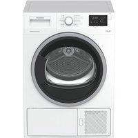 Blomberg LTS2932W 9kg Condenser Dryer in White Sensor A Heat Pump