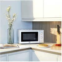 Beko MOC20100S Microwave Oven in Silver 20 Litre 700W