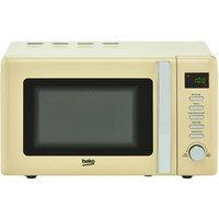 Beko MOC20200C Retro Style Microwave Oven in Cream 20 Litre 800W