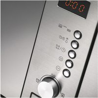 Hotpoint MWH122 1X Built In Microwave Oven in Stainless Steel 800W 20L