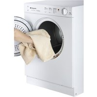 Hotpoint NV4D01P 4kg Compact Vented Tumble Dryer in White C Rated