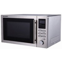 Sharp R82STMA Combination Microwave Oven in Stainless Steel 25L 900W