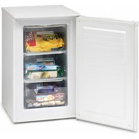 Iceking RZ83AP2 50cm Under Counter Freezer in White 0 85m A Rated