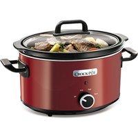 Crock Pot SCV400RD 3 5 Litre Oval Shape Slow Cooker in Red