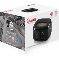 Swan SD6080BLKN 2 5 Litre Fryer in Black