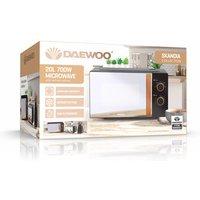 'Daewoo Sda2045wk Skandia Microwave Oven In Black 20l 700w