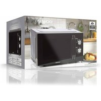 Daewoo SDA2085GE Microwave Oven in Black 23L 800W Manual Controls