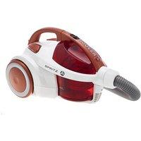 Hoover SE71SZ04001 Spritz Bagless Cylinder Vacuum Cleaner in Red 700W