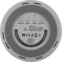 Monacor SLS 1 LED Bluetooth Speaker FM Radio and Alarm
