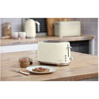 Buy Swan ST20010HON Fearne by Swan 2 Slice Toaster in Pale Honey - Sonic Direct