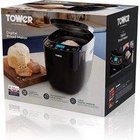 Tower T11003 Gluten Free Digital Bread Maker Black