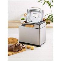 Tower T11005 Digital Bread Maker in Silver 550W 2lb