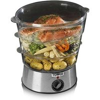 Tower T21001 5 5 Litre 3 Tier Electric Food Steamer in St Steel