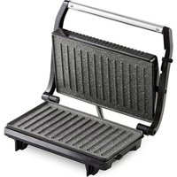 Tower T27019 Panini Sandwich Press in Stainless Steel Black 700W