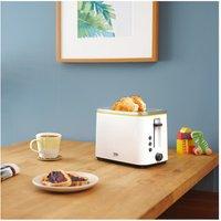 Beko TAM4321W 2 Slice Toaster in White