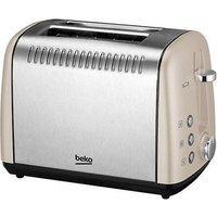 Buy Beko TAM7211C 2 Slice Toaster in Cream - Sonic Direct