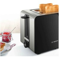 Buy Bosch TAT7203GB Sky Toaster 2 Slice in Black - Sonic Direct