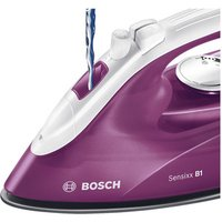 Bosch TDA2625GB Steam Iron in White Deep Berry 2000W