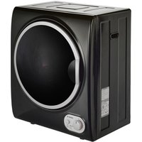 Teknix TKDV25B 2 5kg Tabletop Vented Tumble Dryer in Black