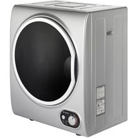 Teknix TKDV25S 2 5kg Tabletop Vented Tumble Dryer in Silver