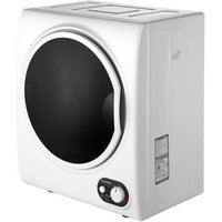 Teknix TKDV25W 2 5kg Tabletop Vented Tumble Dryer in White