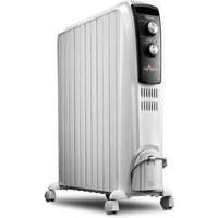 Delonghi TRD41025T 2 5kW DRAGON 4 Oil Filled Radiator with 24hr Timer