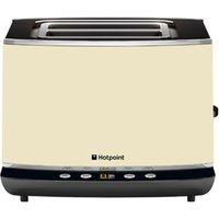 Buy Hotpoint TT22EAC0 Electronic 2 Slot Toaster in Cream - Sonic Direct