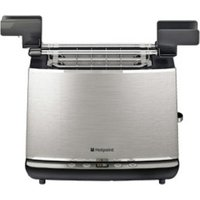 Buy Hotpoint TT22EAX0 Digital 2 Slice Toaster in Stainless Steel LED Displ - Sonic Direct