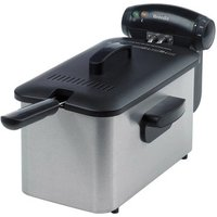 Breville VDF100 3 Litre Pro Deep Fat Fryer in Stainless Steel
